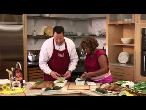 How to Make Sunny Anderson's Pork Laulau - YouTube