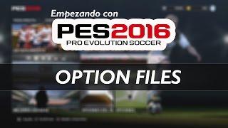 PES 2016 | OPTION FILES | Importar Kits, Emblemas y más | (PS4)