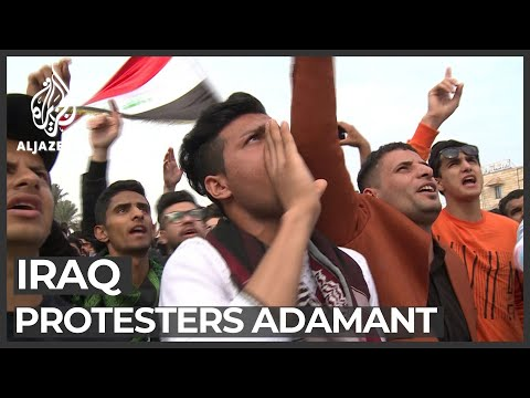 Iraq's southern protesters refuse to back down