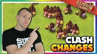 Is this the End of Hogs? Clash of Clans Balance Changes