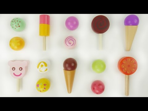 Thumbnail: Best Learning Toys Video to learn colors for babies toddlers Toy ice cream parlor Anpanman アンパンマン