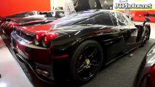 Ferrari Enzo cold start with straight pipes