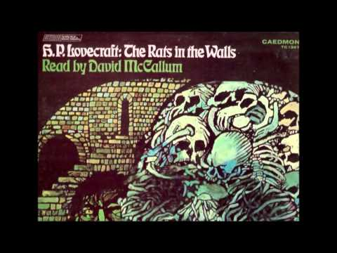 David McCallum Reads the Rats in the Walls by H.P. Lovecraft