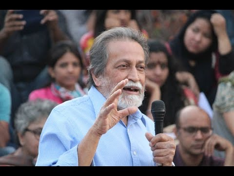 "Prabhat Patnaik in JNU on ""What it means to be 'National'"" 