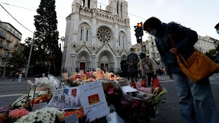 Third man detained over deadly church stabbing in Nice