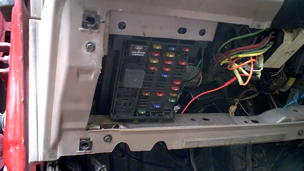 2002 Ford Ranger Dome Light Stays On