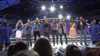 American Idol - Shout to the Lord 4-10-2008