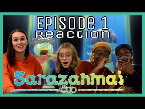 I Made My Friends React To SARAZANMAI | Episode 1 Reaction