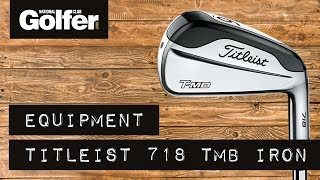 Titleist 718 TMB Irons Review