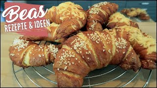Laugencroissant Rezept   Herzhaftes Laugen Gebäck - Laugen-Buttercroissants backen