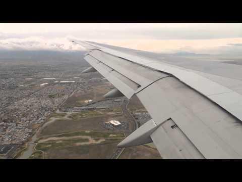 HD Delta Airlines Boeing 757-200 [N610DL] landing in SLC Salt Lake City International Airport