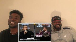 UFC 229: Khabib vs McGregor Press Conference Highlights Reaction