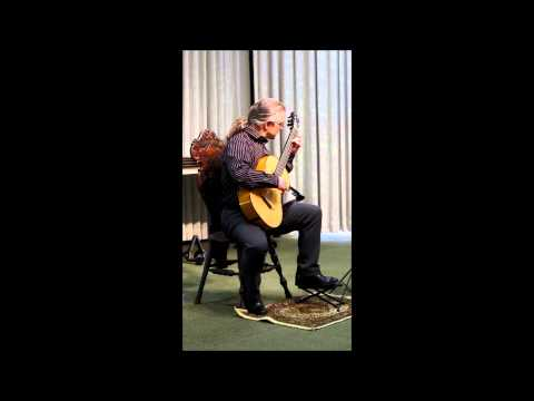Eric Roth performing Paganini on nineteenth century guitar