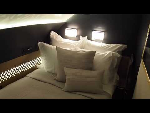 Inside The Residence on Etihad's A380