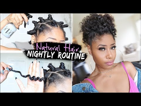 natural-hair-➟-night-time-routine-for-growing,-healthy-hair!-(easy-affordable)