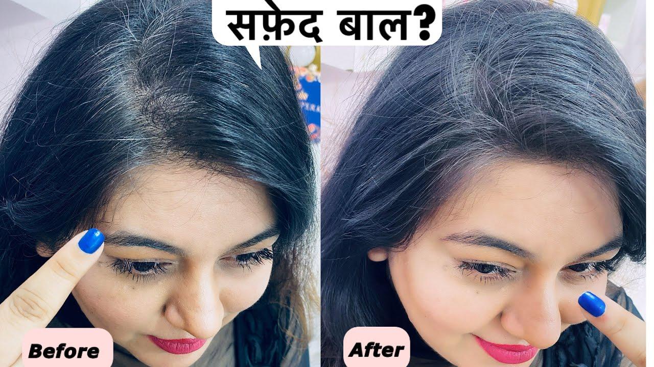 Covering White Hair in Seconds  Magic Hair Retouch  Jsuper Kaur