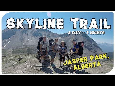 Skyline Trail, Jasper - (Part 1) - 4 days/3 nights 44.1 km Family Backpack