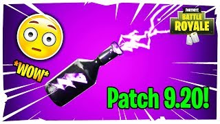"Patch 9.20 ON FORTNITE! ALL THE NEW AND THE NEW OBJECT""INVERT SIN"""