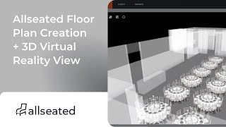 Allseated Floor Plan Creation 3d Virtual Reality View Youtube