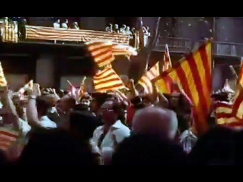 Diada de Cataluña 11 de septiembre de 1977 - Dia de Cataluña - Diada de Catalunya