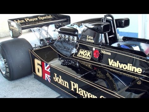蘇る名車!!! John Player Special Lotus78 & Lotus88B 筑波サーキット Team Lotus