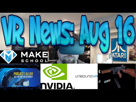 VR News: Aug 16 - Intel Project Alloy Fact vs Hype!? - VR capable mobile GPUs & More!