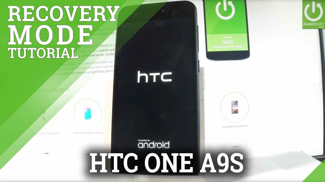 HTC One A9s Recovery Mode / Enter & Exit Android Recovery