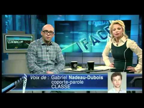 Face-à-Face: Stéphane Gendron vs Gabriel Nadeau-Dubois
