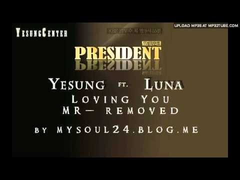 [MR-removed] Yesung & Luna 'Loving You' [+mp3 Download]