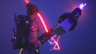 Fortnite Ghostbusters Gear Bundle & Skins Review! (How Is The PROTON PACK Reactive?)