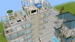Sims Freeplay || Construir Rascacielos Y Habitaciones Flotantes En Versión 5.13.0