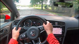 2020 Volkswagen Golf GTI (6MT) - POV Test Drive (Binaural Audio)
