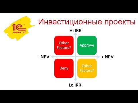 Управление инвестиционными проектами в 1С:Управление холдингом
