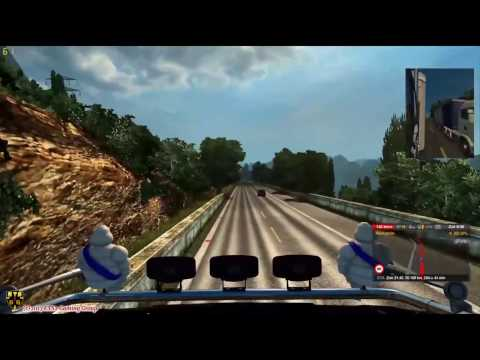 Mario Map 12.2 ETS2 v1.27 Ep.14 From Sao Paulo(brsud) to Le Mans (f)