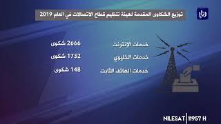 ارتفاع عدد شكاوى الاتصالات في العام 2019 (7/1/2020)