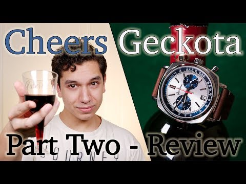 WatchGecko Geckota C1 Racing Chrono V04 - Part Two - In-Depth Review