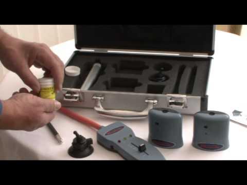Leak Detective - Ultrasonic Air and Water Leak Detector System