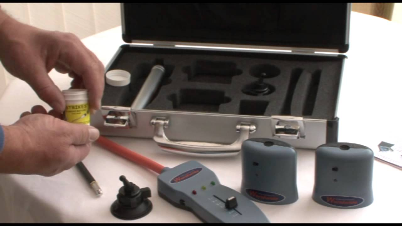 Leak Detective - Ultrasonic Air and Water Leak Detector System