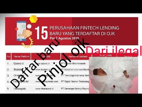 Daftar 15 Pinjaman Online Baru Terdaftar Ojk 7 Agustus 2019