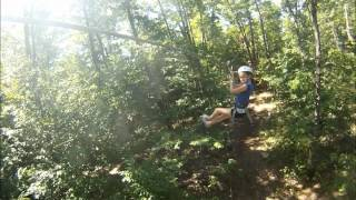 Treetop Trekking Huntsville  - July 29 2012.wmv