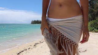 DIY Bohemian Beach Cover-up