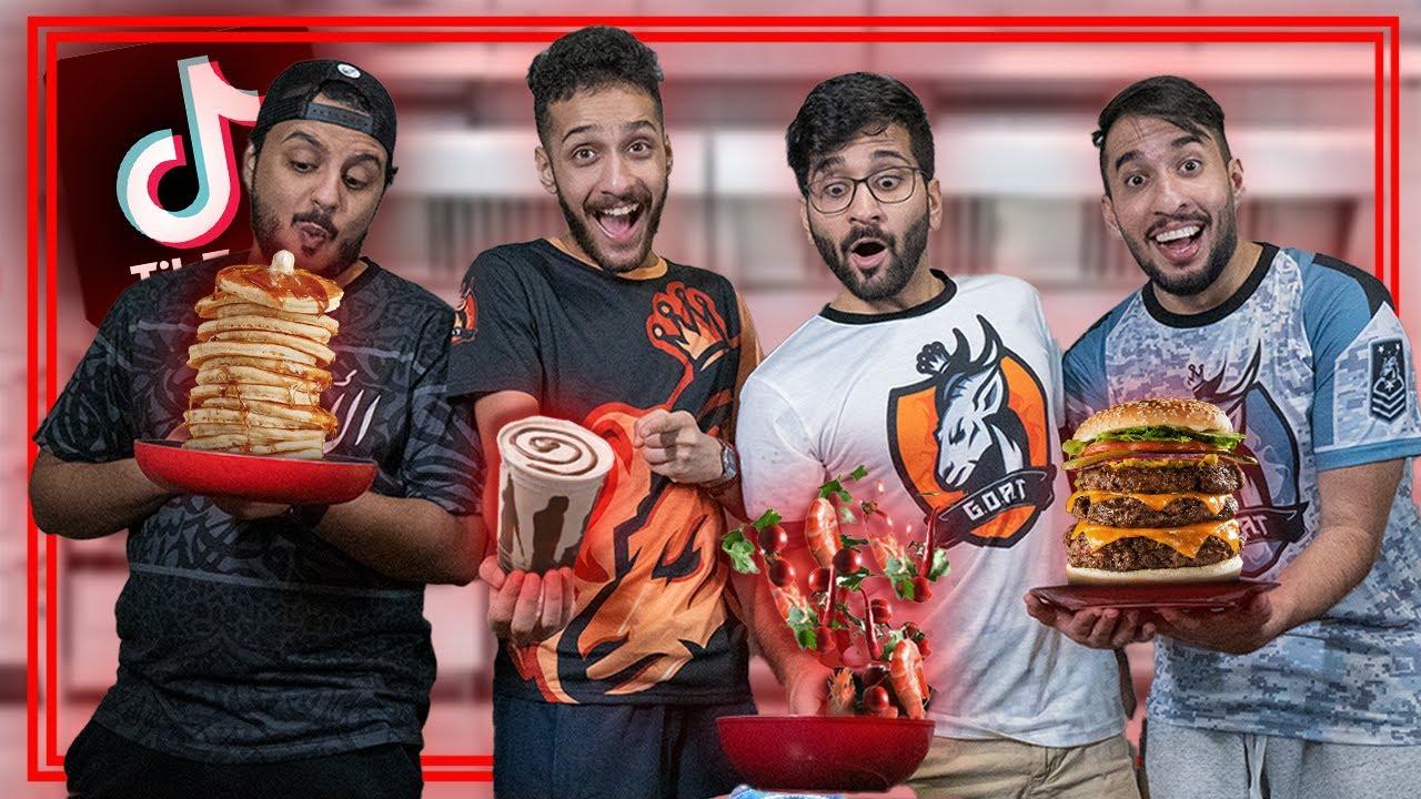Download تحدي طبخات التيك توك 🧑🍳😍 (( الفيلا شكلها بتحترق🔥🏠 )) !!