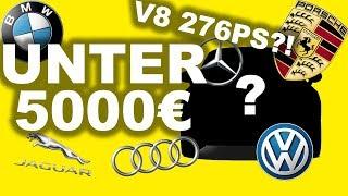 Die 5 Besten Autos unter 5000€