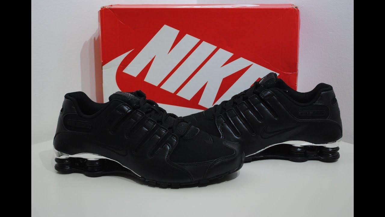 best service e8c8f 5fad8 Nike Shox NZ Premium Black Chrome Product Presention By Crime Clothing