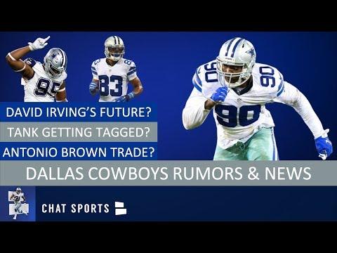 Cowboys Rumors & News: David Irving A Goner, Terrance Williams, DeMarcus Lawrence Tag & Dak Prescott