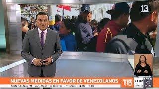 Gobierno toma nuevas medidas para ir en favor de venezolanos en Chile