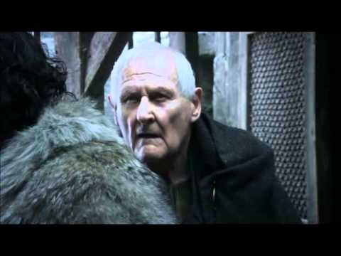 Jon Snow and Maester Aemon - HONOR