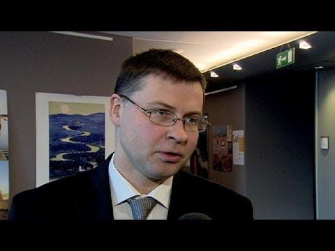 Former Latvia PM eyes top EU job