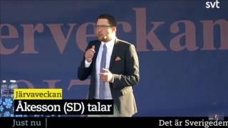 Jimmie Åkesson (SD)  - Järvaveckan  2017-06-17