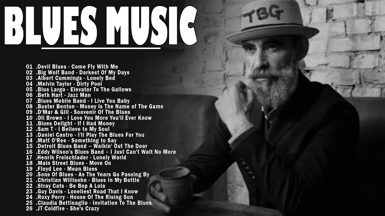 Download Blues Music | Top 50 Blues Music Of All Time - Best Of Slow Blues & Blues Ballads Playlist